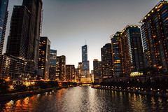 Chicago Downtown Dusk