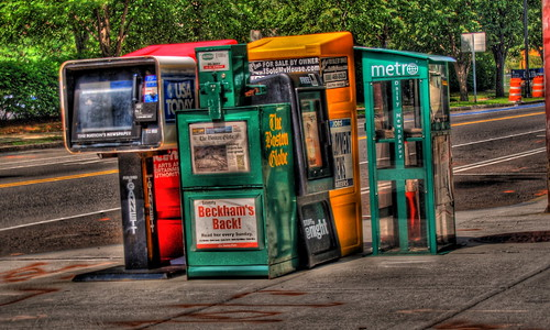 Newspaper stands by wili_hybrid, on Flickr