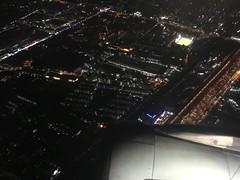 Bangkok aus dem Flugzeug