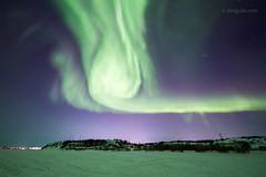 Northern Lights over Yellowknife, NWT