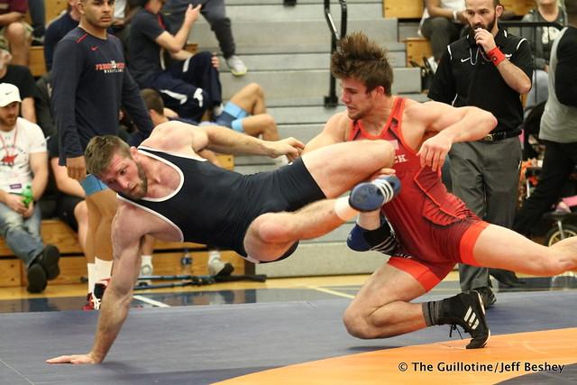 86  Nick Reenan (Titan Mercury Wrestling Club) VSU Ryan Mcwatters (Unnattached), 11-0 2:49. 180519AJF0169