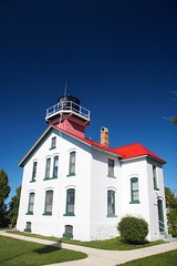 Grand Traverse Lighthouse at Leelanau State Park