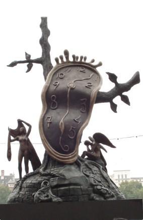 Melting Time Sculpture