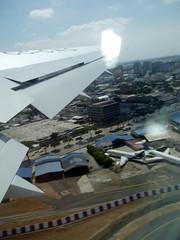Vista aérea del Aeropuerto José Joaquin de Olmedo