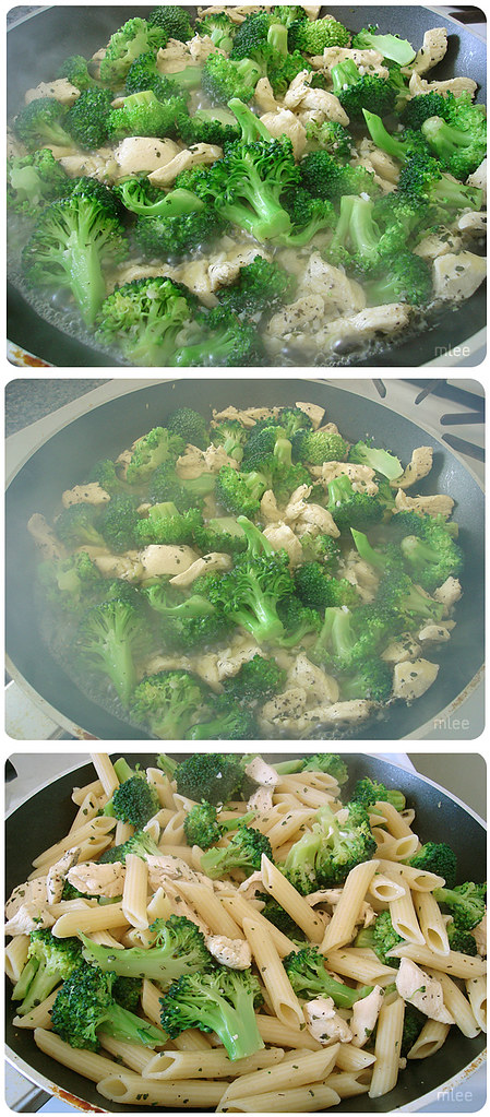 how to cook broccoli with chicken liver