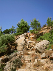 Ikaria 278 (isl_gr (Mnesterophonia)) Tags: hiking beautyconcealed ikaria icaria aegean trails replacement greece hiker z nas hikingtrails  hikingikaria  chalares  aegeanislands top20greece