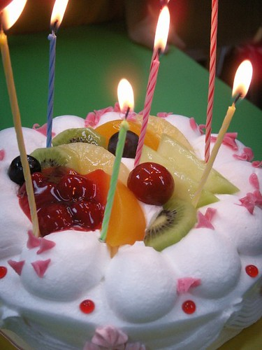 picture of a birthday cake