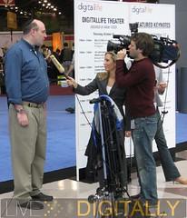 Michael Gartenberg being interviewed