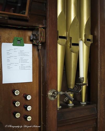 Organ; St. Michael's Church, Enmore, Somerset