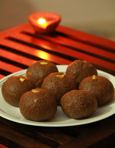 Plated Laddoos
