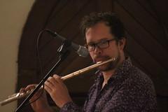 Nick Southcott.  Big man on a flute