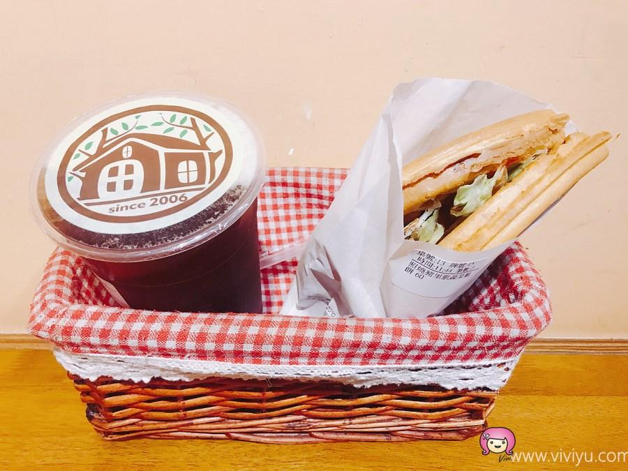 [龜山美食]小木屋鬆餅.林口長庚醫院對面銅板美食~可內用外帶的口袋鬆餅 @VIVIYU小世界
