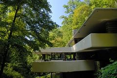 Fallingwater, a Frank Lloyd Wright house