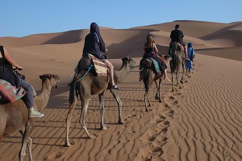 The Erg Chebbi Dunes, Morocco