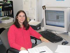Vicky's Work Area 2006
