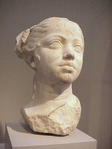 Portrait Of A Young Woman Roman Late Republican Period