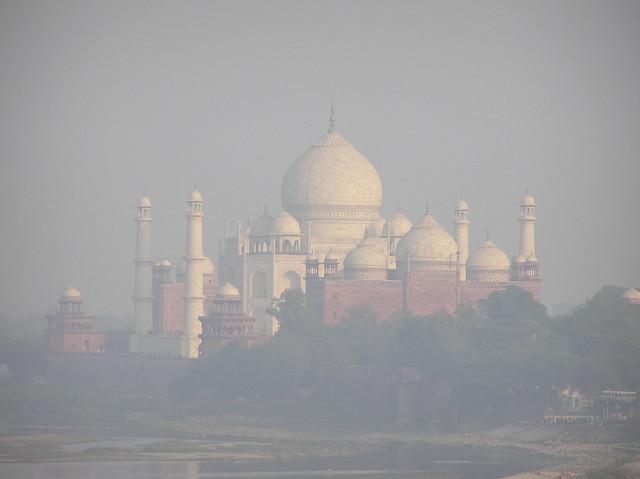 Taj in the Mist