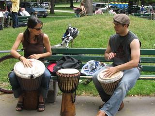 djembe drummers