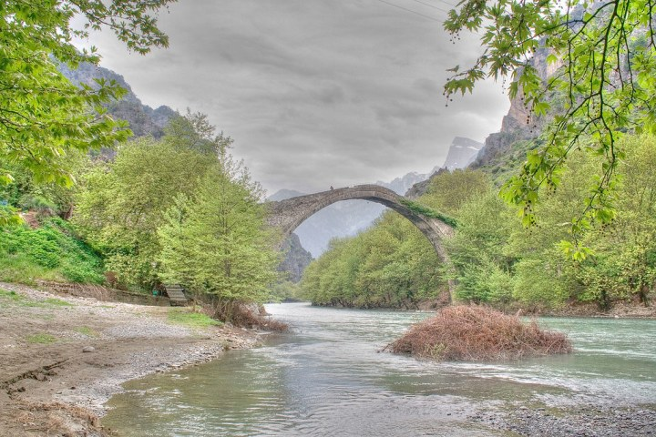 Konitsa's old bridge