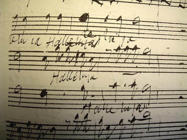 Handel - in his own hand!