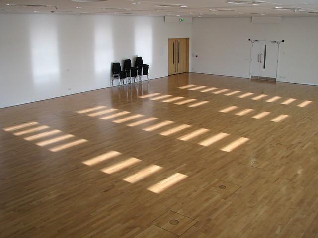Sage empty dance studio