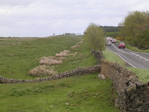 The ditch after the realignment