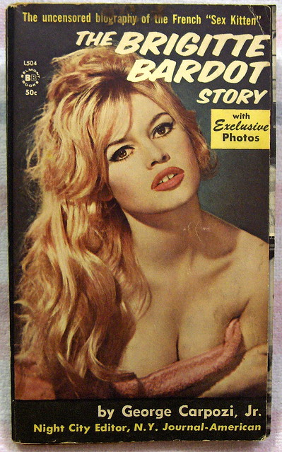 the brigitte bardot story vintage sleaze books