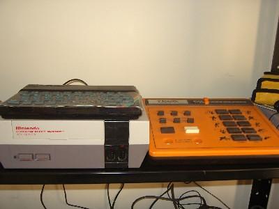 Sinclair Spectrum 48k, Nintendo NES, Binatone console