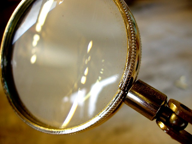 Photo:Magnifying Glass By:Auntie P