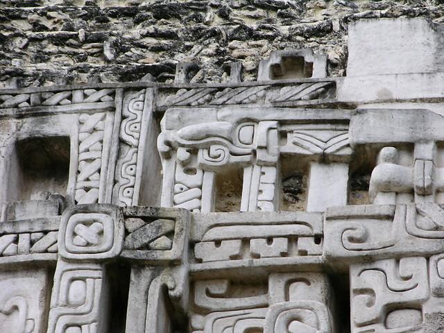 Mayan heiroglyphs