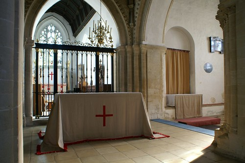 Cuddesdon, Oxfordshire: Lent array