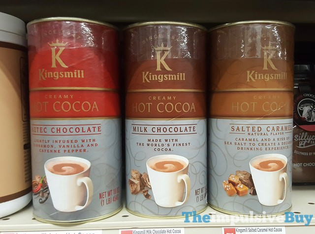 Kingsmill Creamy Hot Cocoa (Aztec Chocolate, Milk Chocolate, and Salted Caramel)
