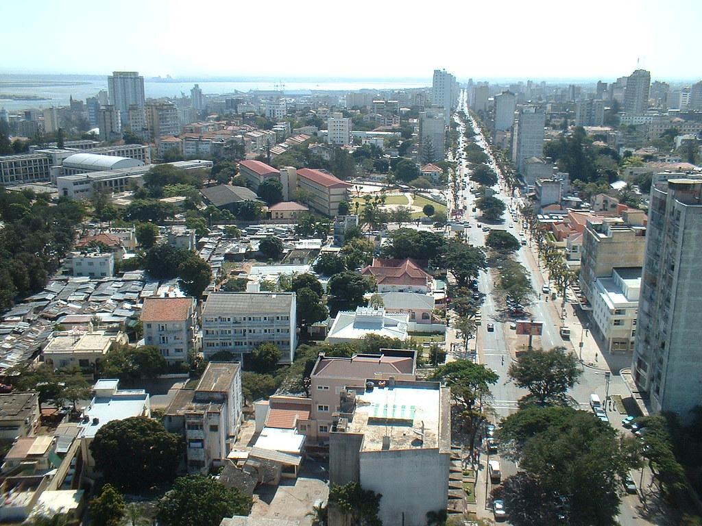 Maputo Skyline - West (2006)