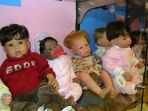 Multi culture dolls by A.Currell CC Flickr