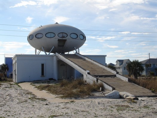 Futuro Spaceship House, Pensacola Beach, FL