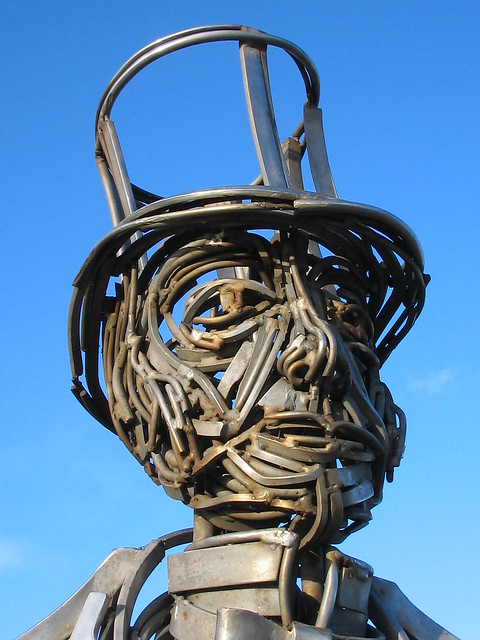 Henry Pease Sculpture Saltburn 3