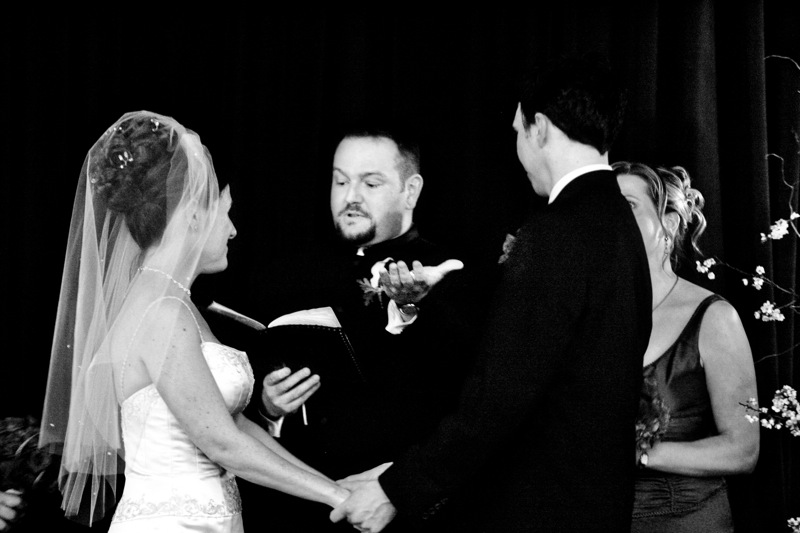 Lawrence marries us!