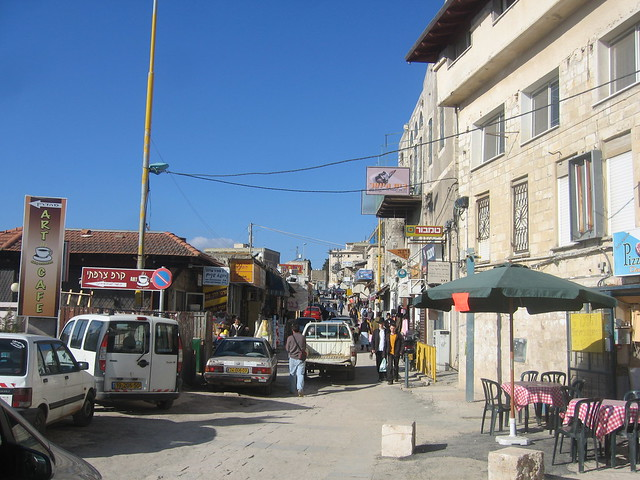 Tzfat Street Scene