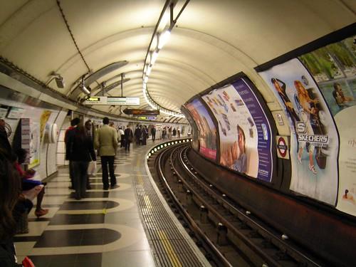Bakerloo Line at London Waterloo Station
