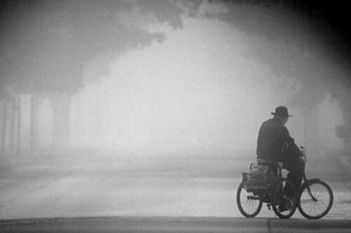 Amish biker