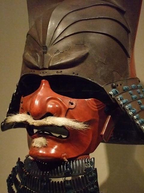 Samurai Helmet With Half Face Mask 1615 1650 Edo Period 1 Flickr