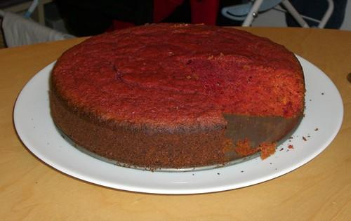 Jamie Oliver's Beetroot cake