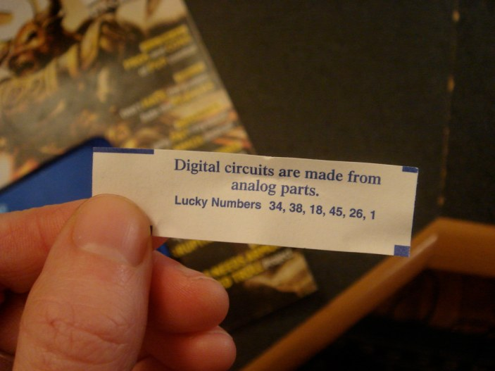 digital/analog wisdom