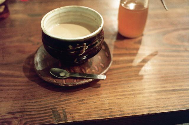 Masala chai at Sarasa Nishijin