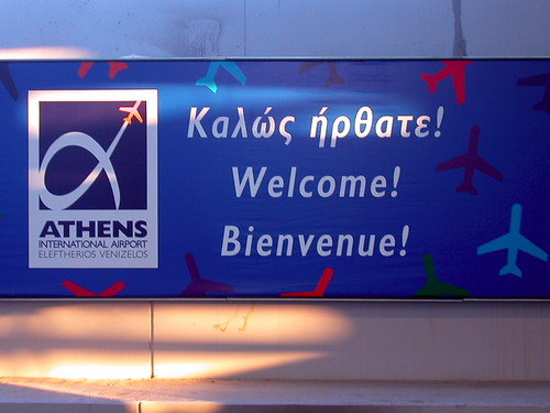 Welcome to Athens, Greece