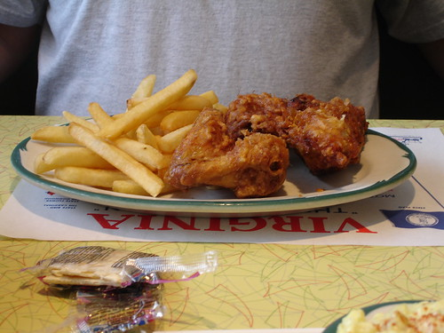Fried Chicken and Fries in Virginia