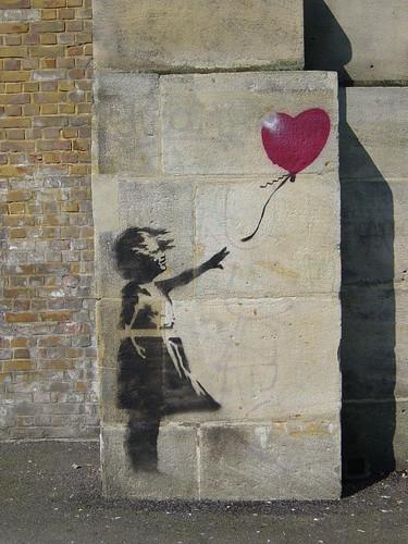 banksy balloon girl (the original one)