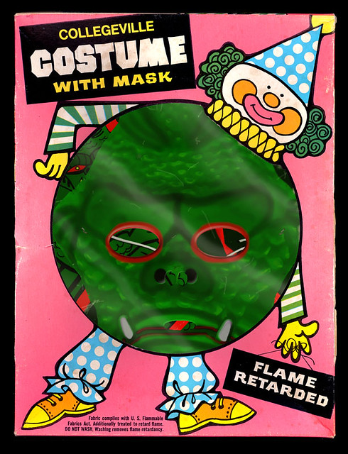 Faux Stretch Monster Halloween Costume (box front)