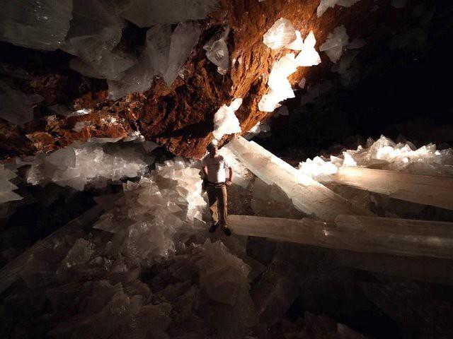 cueva de cristales