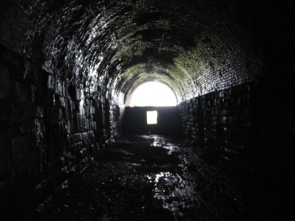 Kettleness Abandoned Railway Tunnel 2